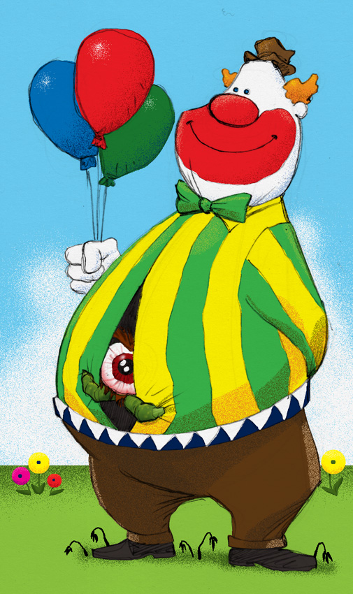 A Nice Clown by 66lightning