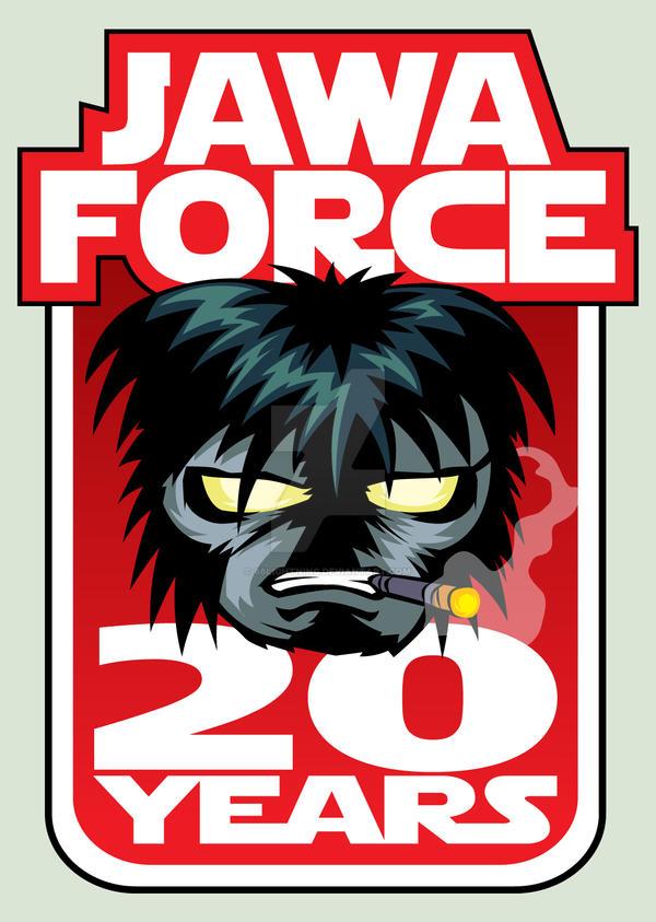 Jawa Force 20th Anniversary Pin by 66lightning