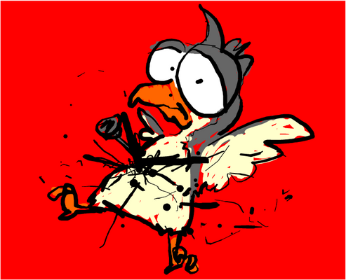 birdy got stabbed