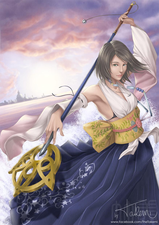 FFX - Yuna by TheTakemi on DeviantArt