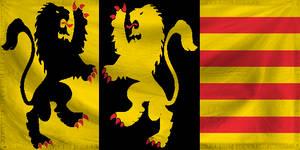 Alternate flag of Flanders
