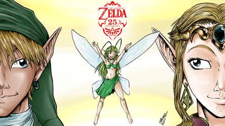 Zelda 25th Anniversary Wallpaper