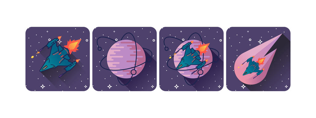 APP icons for upcoming game by REDDPRIME