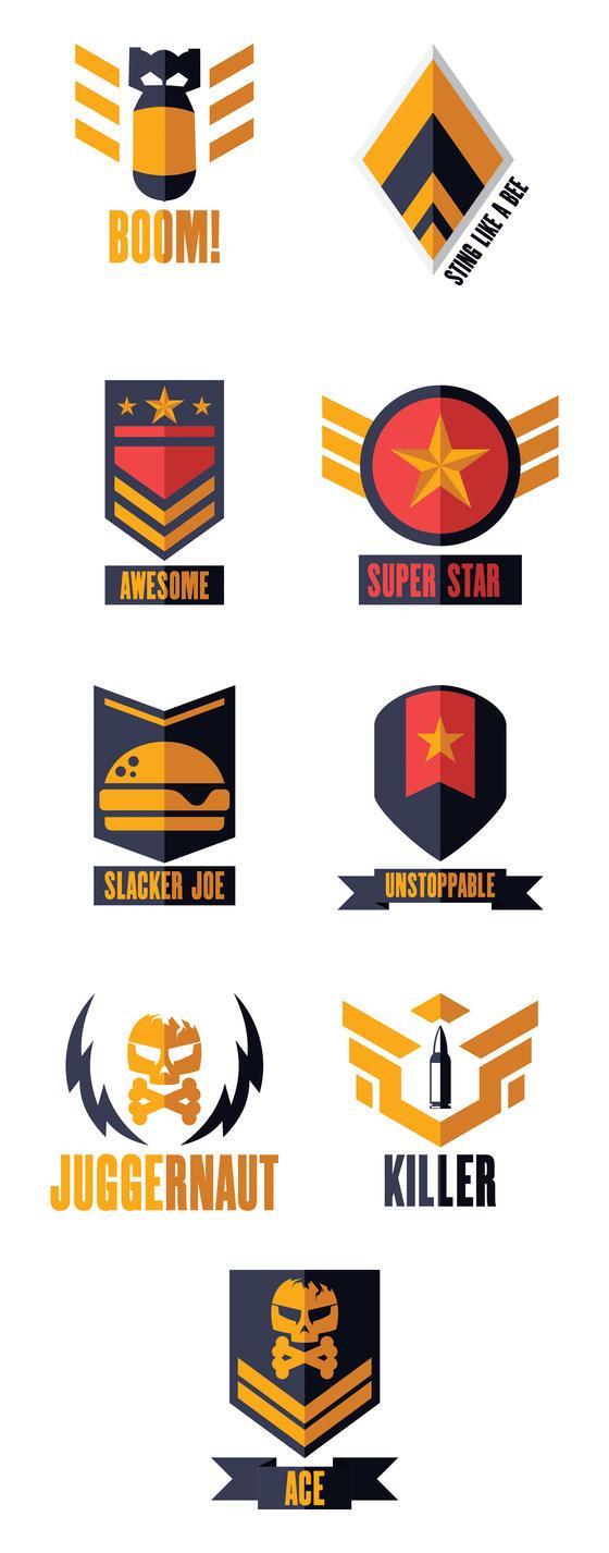 Badges Broken Skies by REDDPRIME