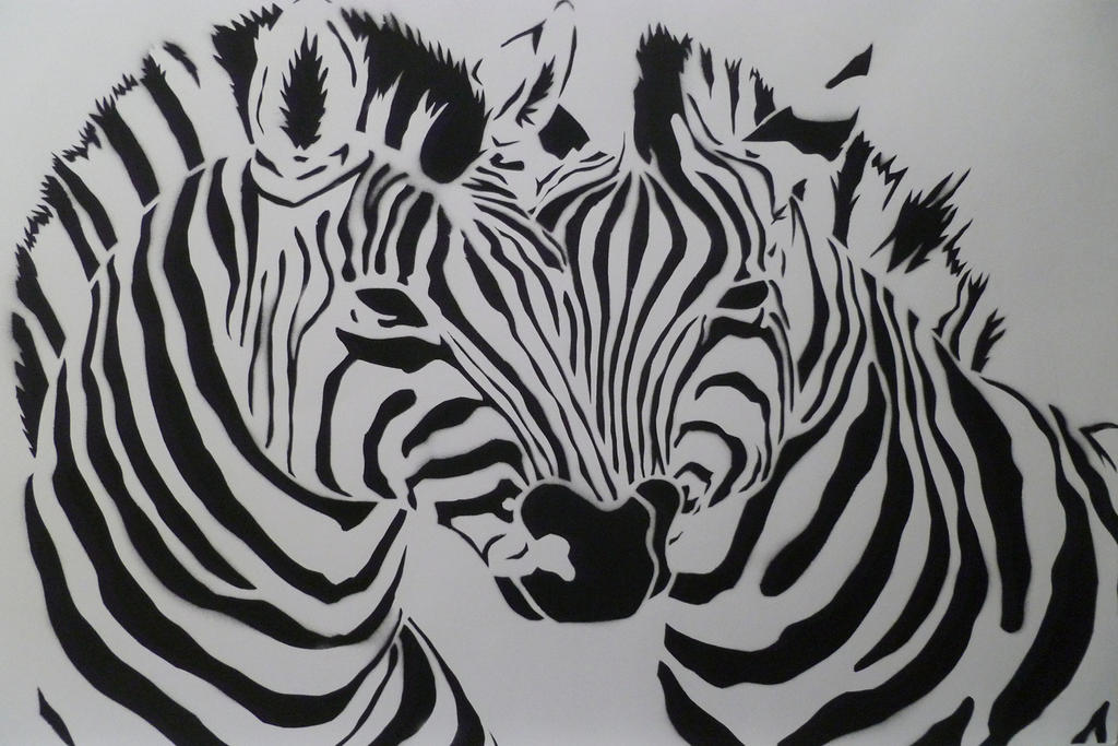 Zebra Couple by AuthenticBeauty1