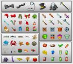 Pixel Art: Objects Sprite Sheet by beeto456