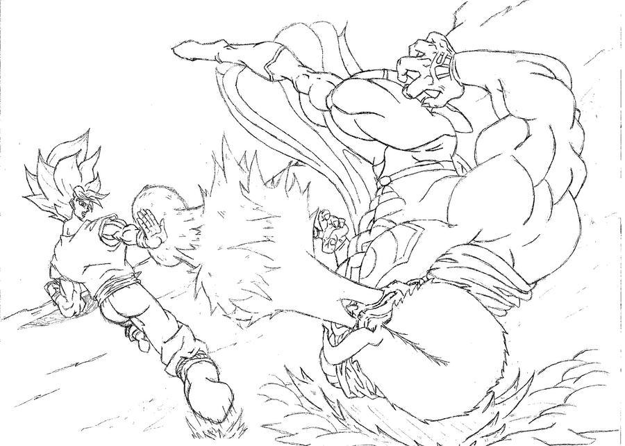 Goku vs Superman 2 by Axel-Knight on DeviantArt
