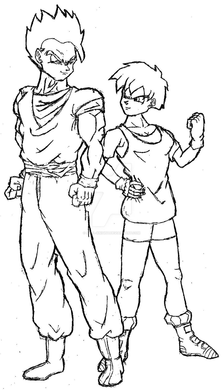 gohan and videl by axel knight on deviantart 2014 Honda Odyssey Fuse Box gohan and videl by axel knight