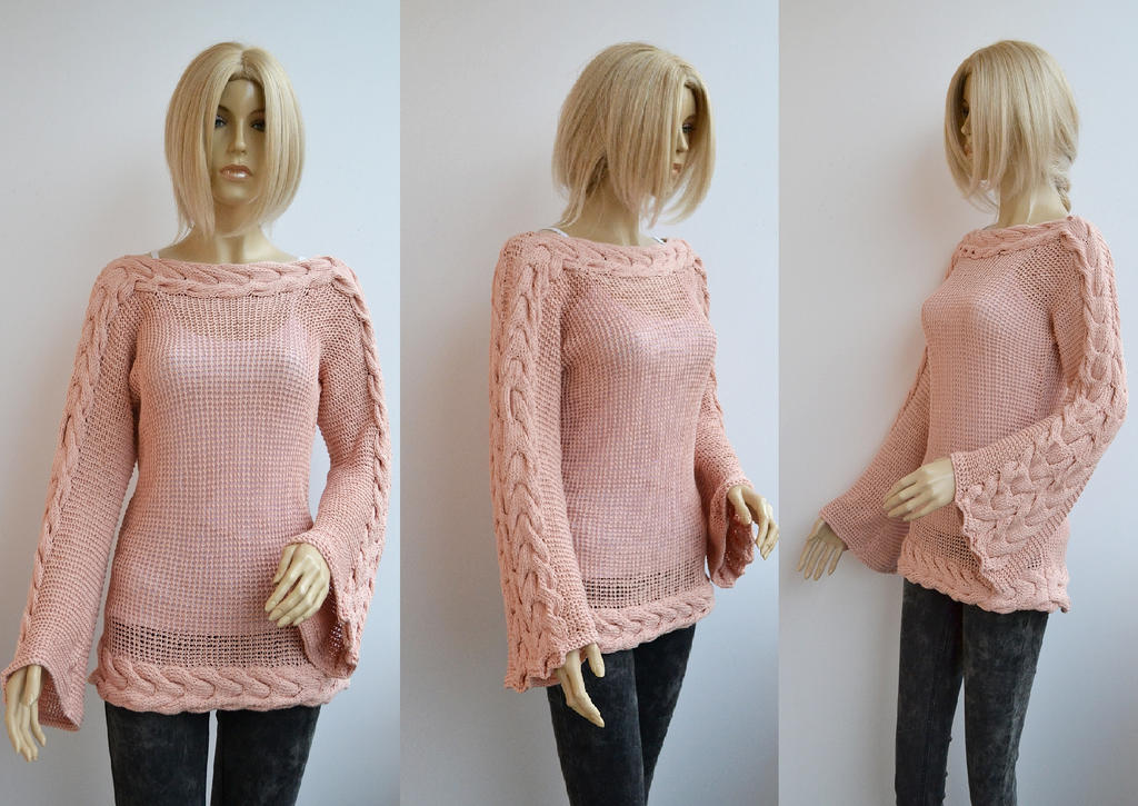 Blouse sweater by dosiak