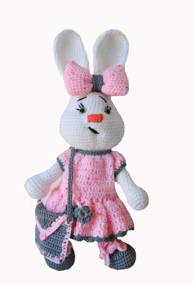 Crochet Bunny by dosiak