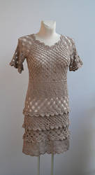 Crochet tunic by dosiak