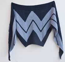 Wonder Woman shawl