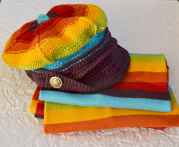 Colorfull winter set by dosiak