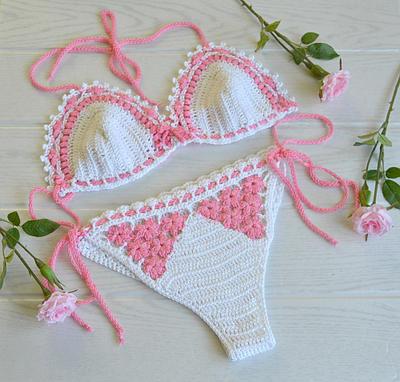 crochet bikini by dosiak