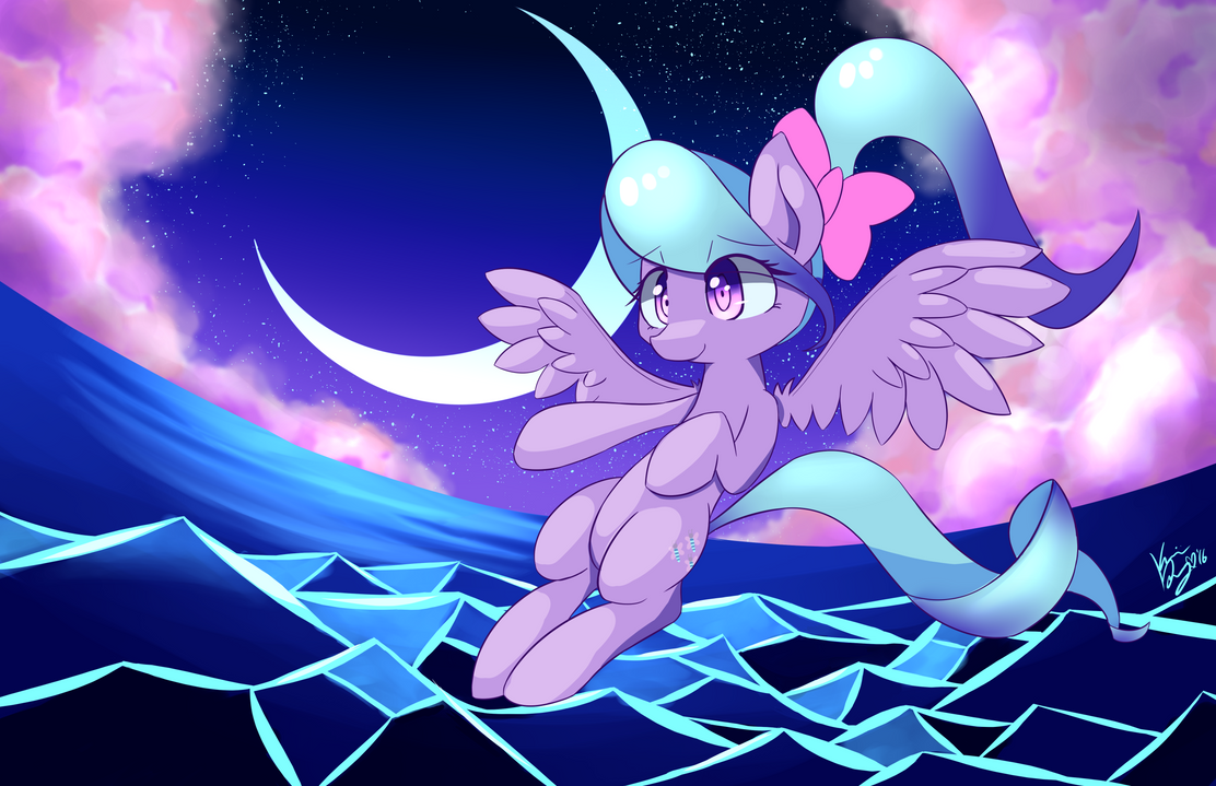 Midnight Flitter by kawaiipony2