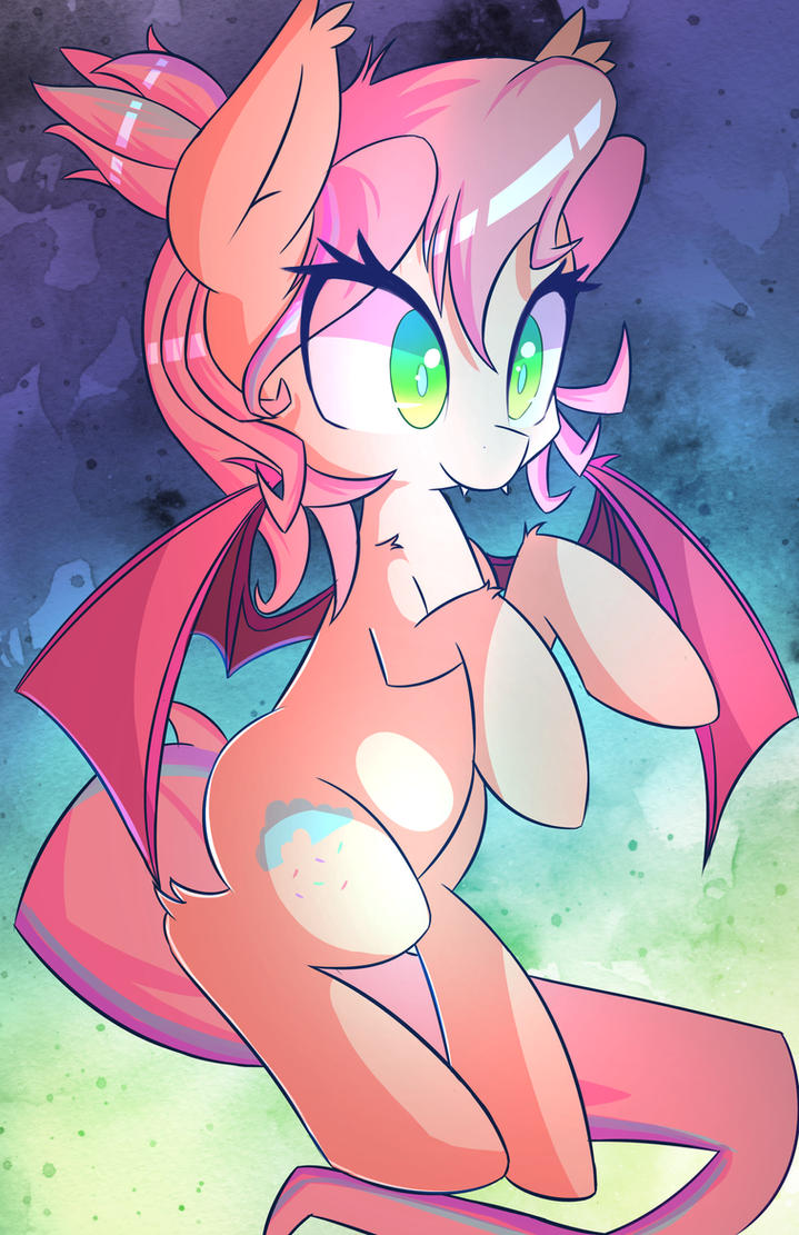 Charity - Bat Sweet Skies by kawaiipony2