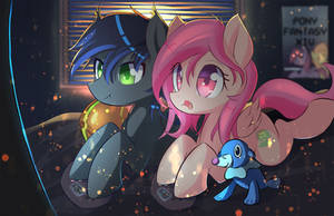 Peach Hack + Midnight Aegis by kawaiipony2