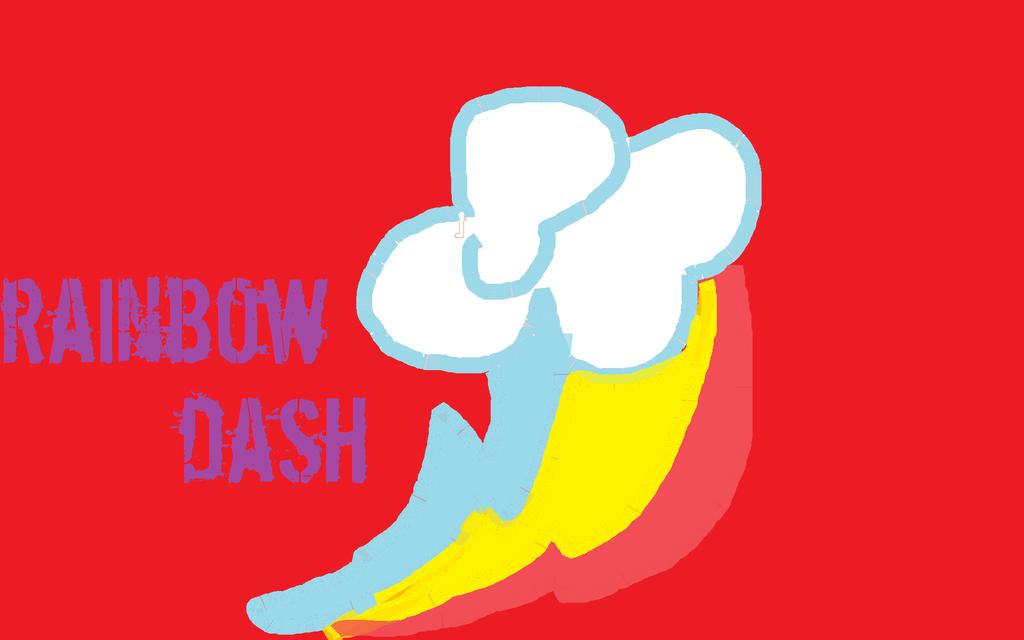 how to draw rainbow dash cutie mark