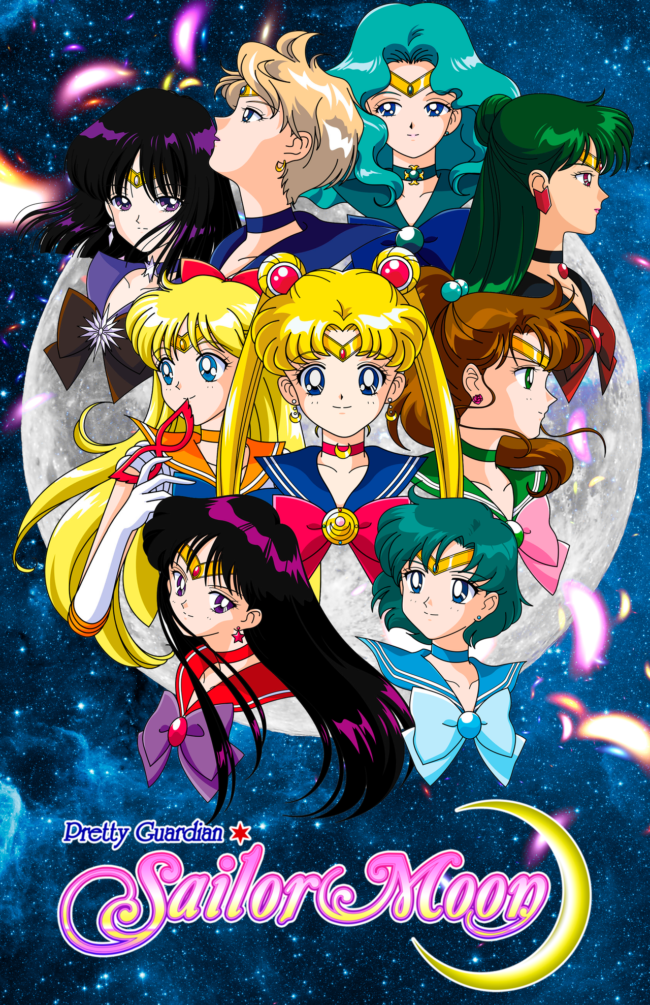 Image result for sailor moon poster