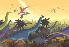 Dino Run 2: The Herd