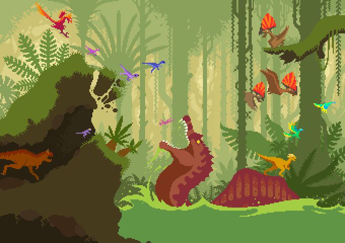 Dino Run 2: Spinosaurus SNAP by dinorun2