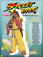 Street Fighter Destiny: Sean by JuLeonidas