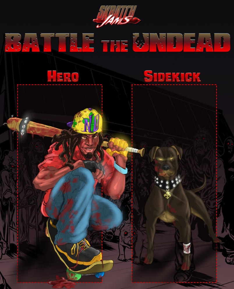 Skratch Jams - The Undead City of the New Orleans by JuLeonidas