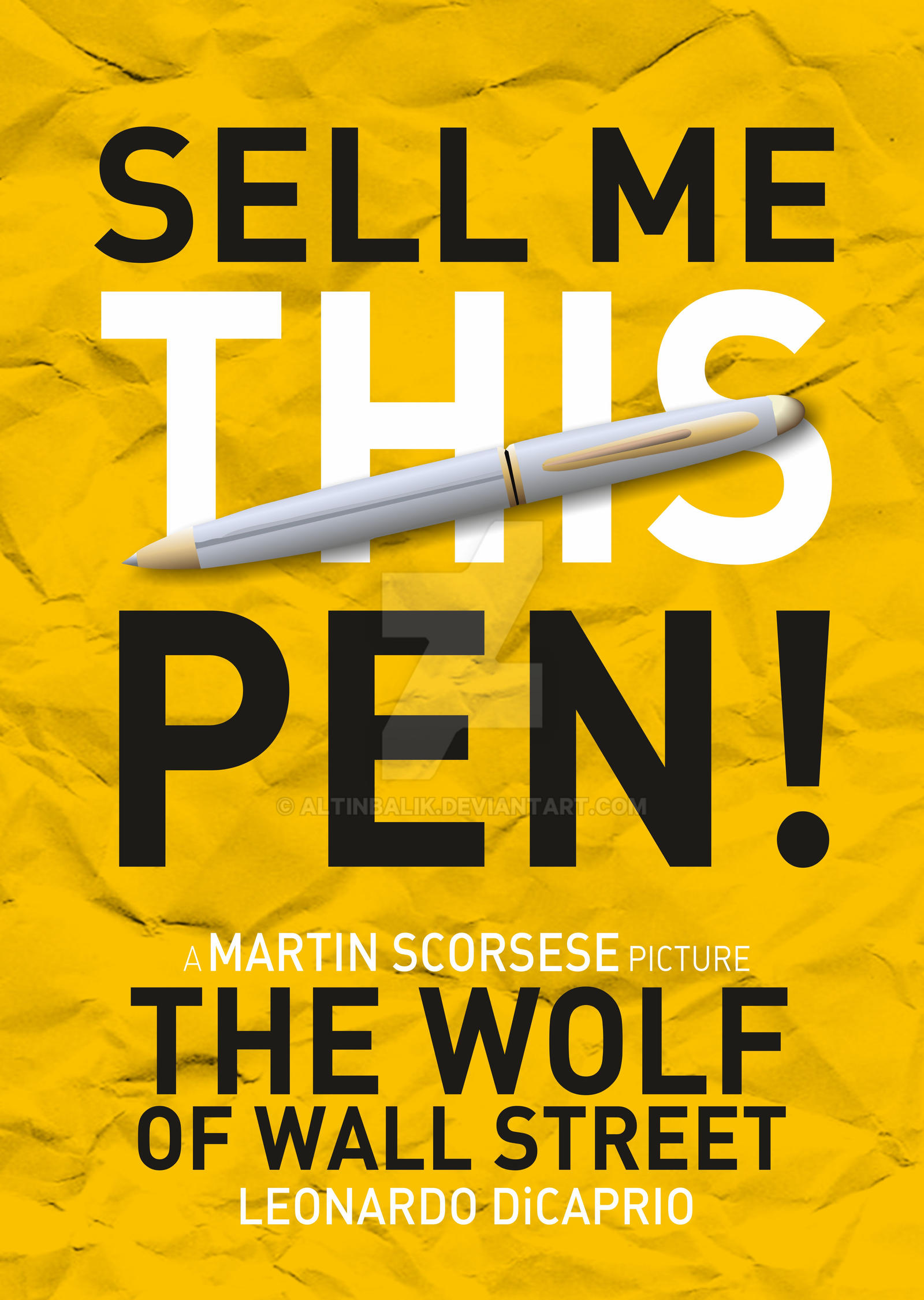 The wolf of wall street alternate poster by altinbalik on for Buy art online india