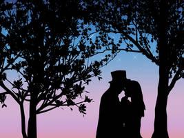 Twilight Kiss by azkardchic