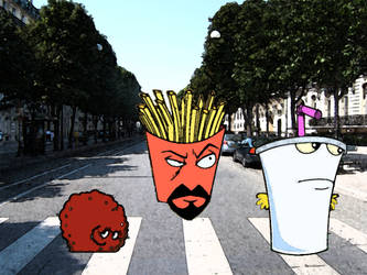 Aqua Teen on Abbey Road
