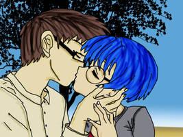 Manga Couple by azkardchic