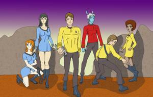 The Continuum Crew by azkardchic