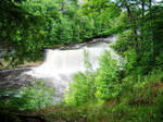 tahquamenon falls + by azkardchic