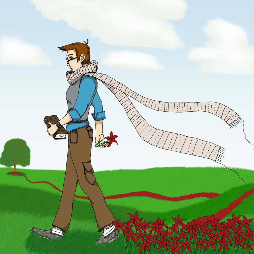 scarf by azkardchic