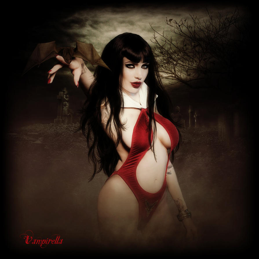 Vampirella by Wickedbutterflly