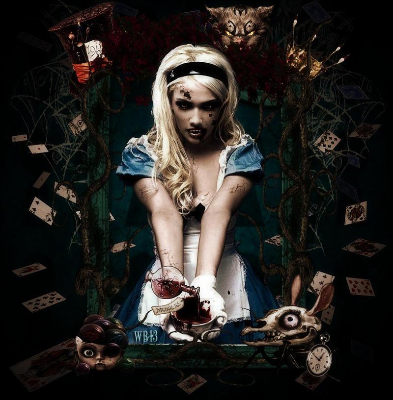 Twisted Alice By Wickedbutterflly On Deviantart