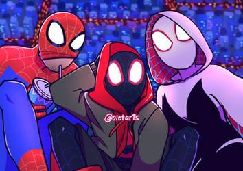 Spiderverse by Shibikii