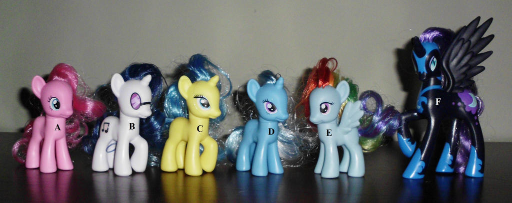 CUSTOM MLP G4: FRIENDSHIP IS MAGIC BASES by UniqueTreats
