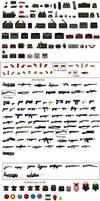 Armas Equipamiento y Objetos de brutal doom