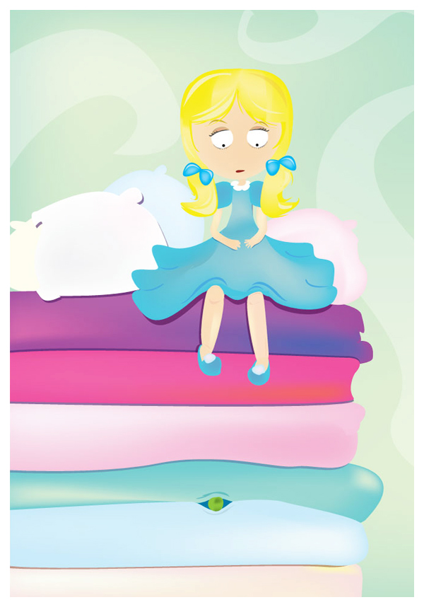 The Princess and the Pea by ysellyra on DeviantArt