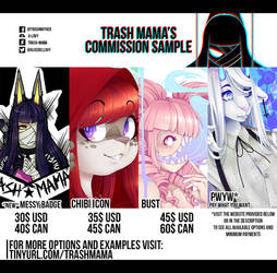 [5 Slots]2020 Commission opening!