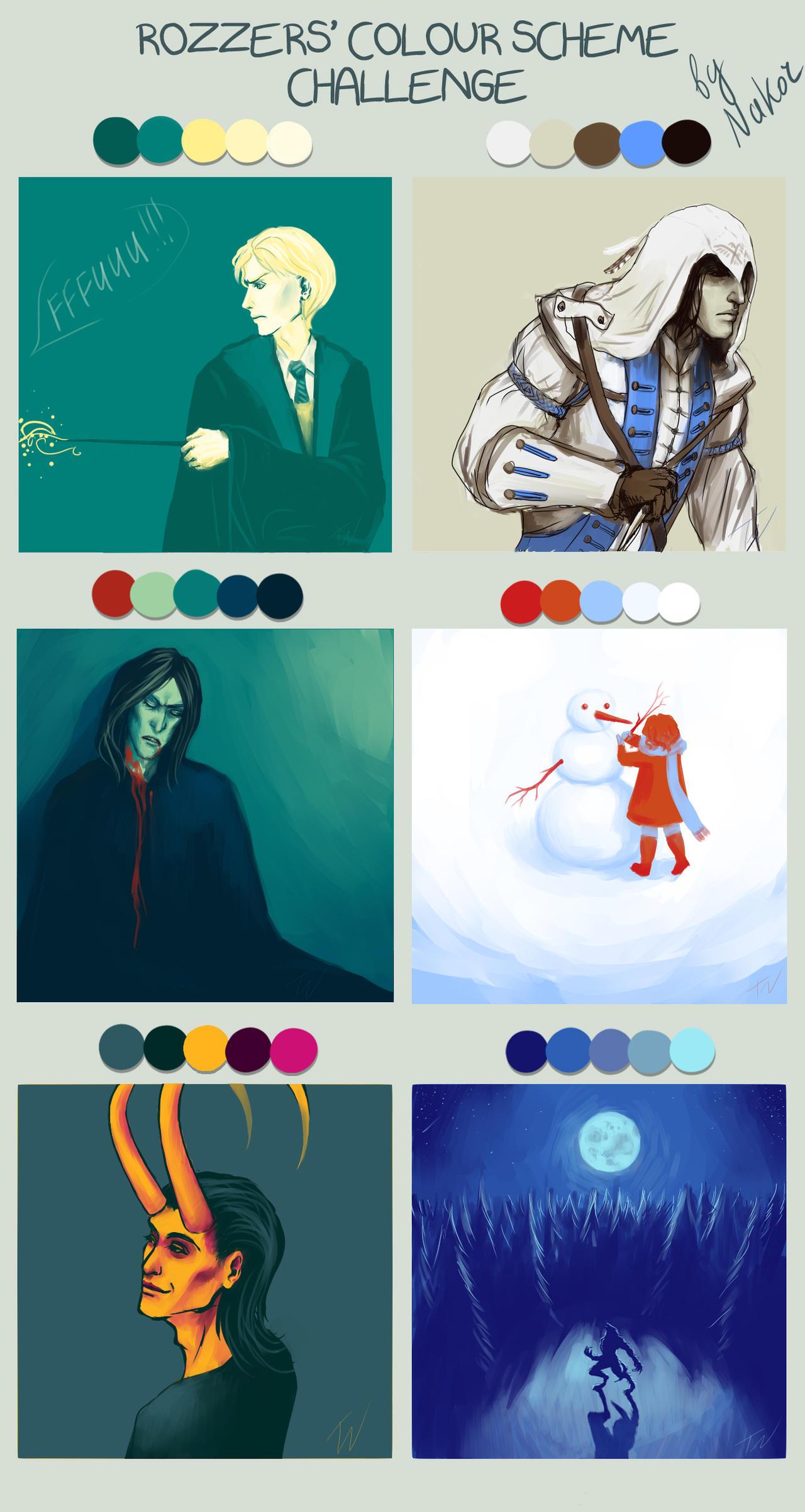 Colour Scheme Challenge meme by nako-chi