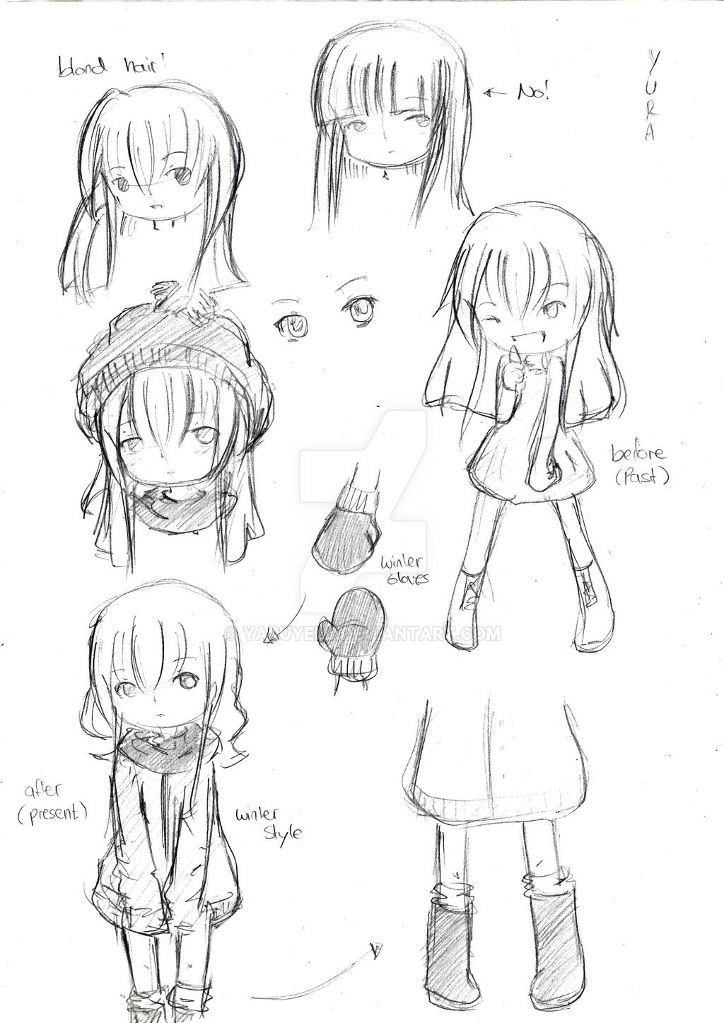 Character Design In Animation : Character design yura animation project by yaruyell on
