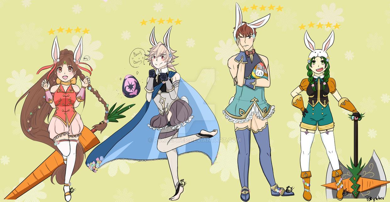 Fire Emblem Heroes Bunny Team