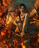 Lara Croft by uoelze