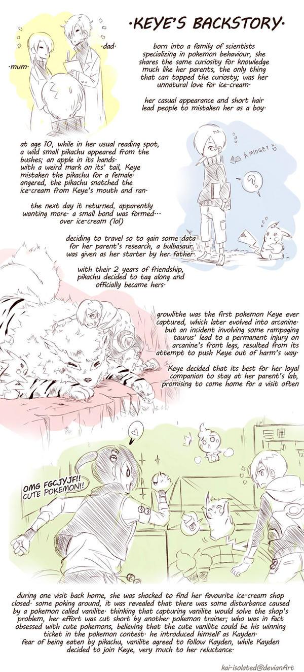 Keye's Backstory: Part 1 by kai-choo