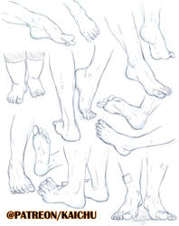 Practice Sheets - Feets
