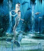 The Littlest Mermaid... by TwinAngels2007