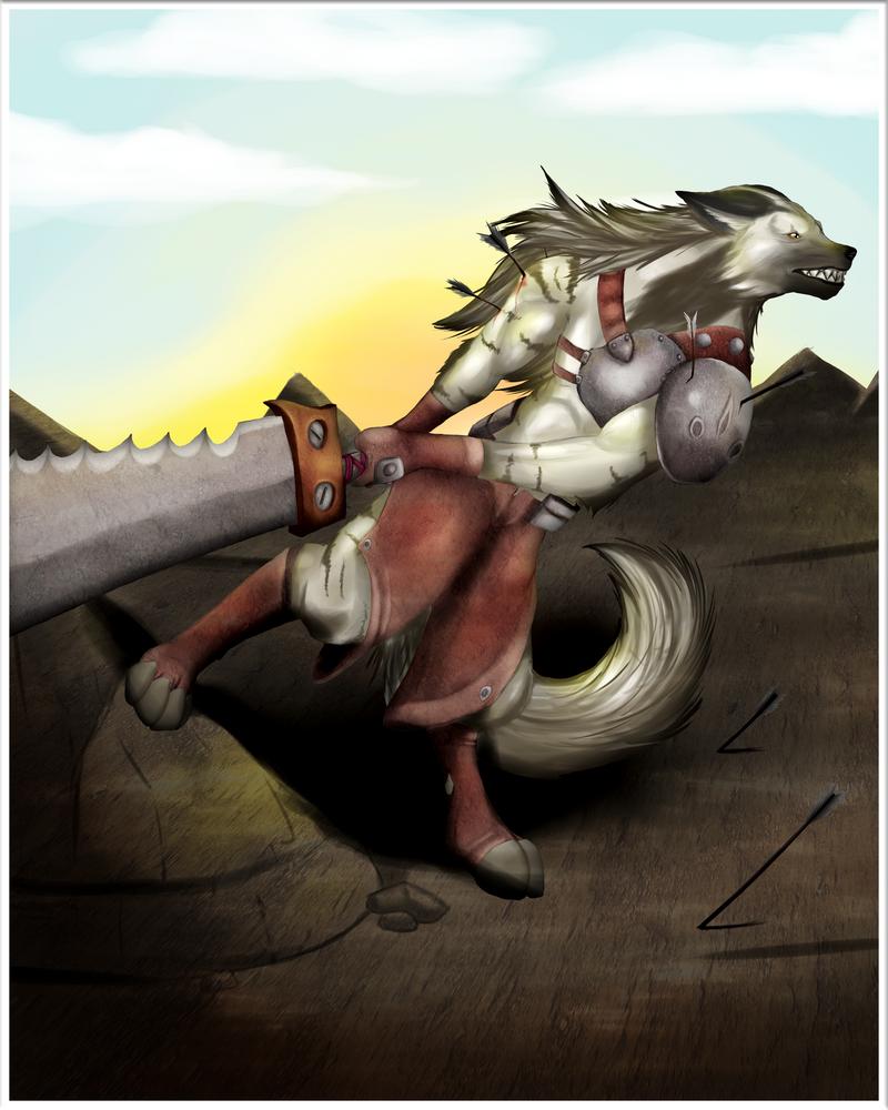 Yathen at War by pinafta1