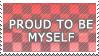 Proud to be myself - stamp by XxX-Toxic-Girl-XxX